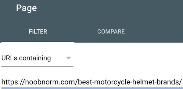 مشاهده پیج ها در گوگل ویمستر