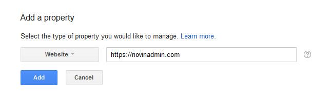 ثبت آدرس سایت در گوگل وبمستر
