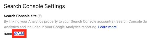 اتصال گوگل وبمستر با گوگل آنالایتیک