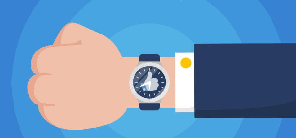 زمان گذاشتن پست در شبکه های اجتماعی