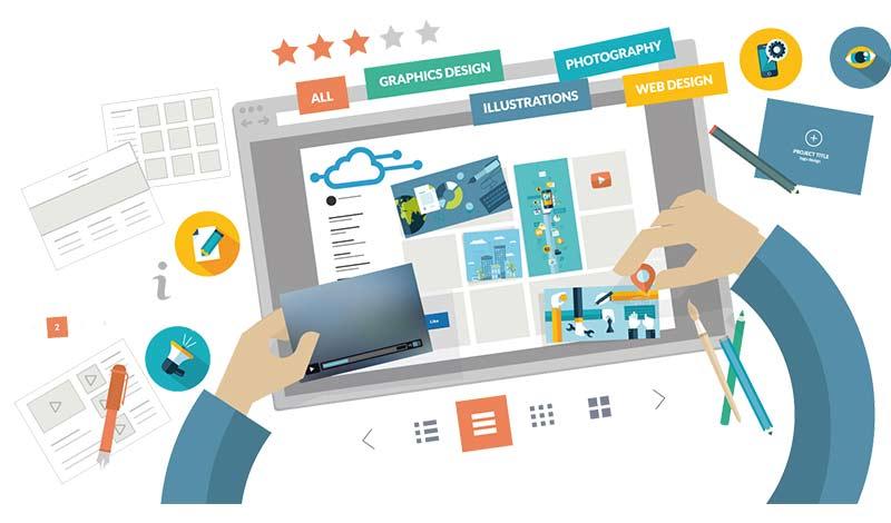 مدیریت سایت و تولید محتوا