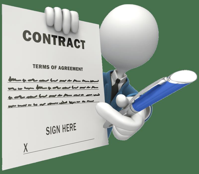 مدیریت سایت بصورت قراردادی