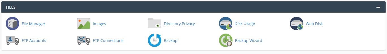 فایل منیجر cpanel نصب وردپرس