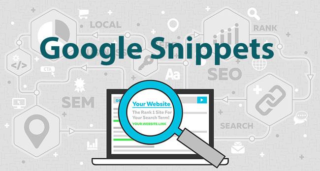 گوگل اسنیپت - مقاله سئو شده