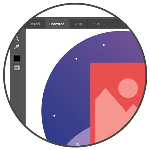 مقایسه تصاویر بهینه سازی شده در فتوشاپ - بهینه سازی تصاویر