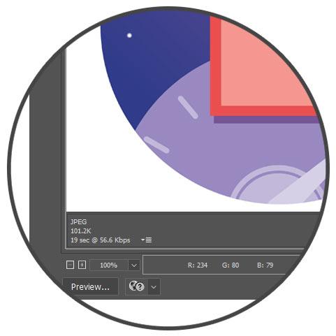 بهینه سازی تصاویر - مشاهده پیش نمایش و خروجی تصاویر در فتوشاپ